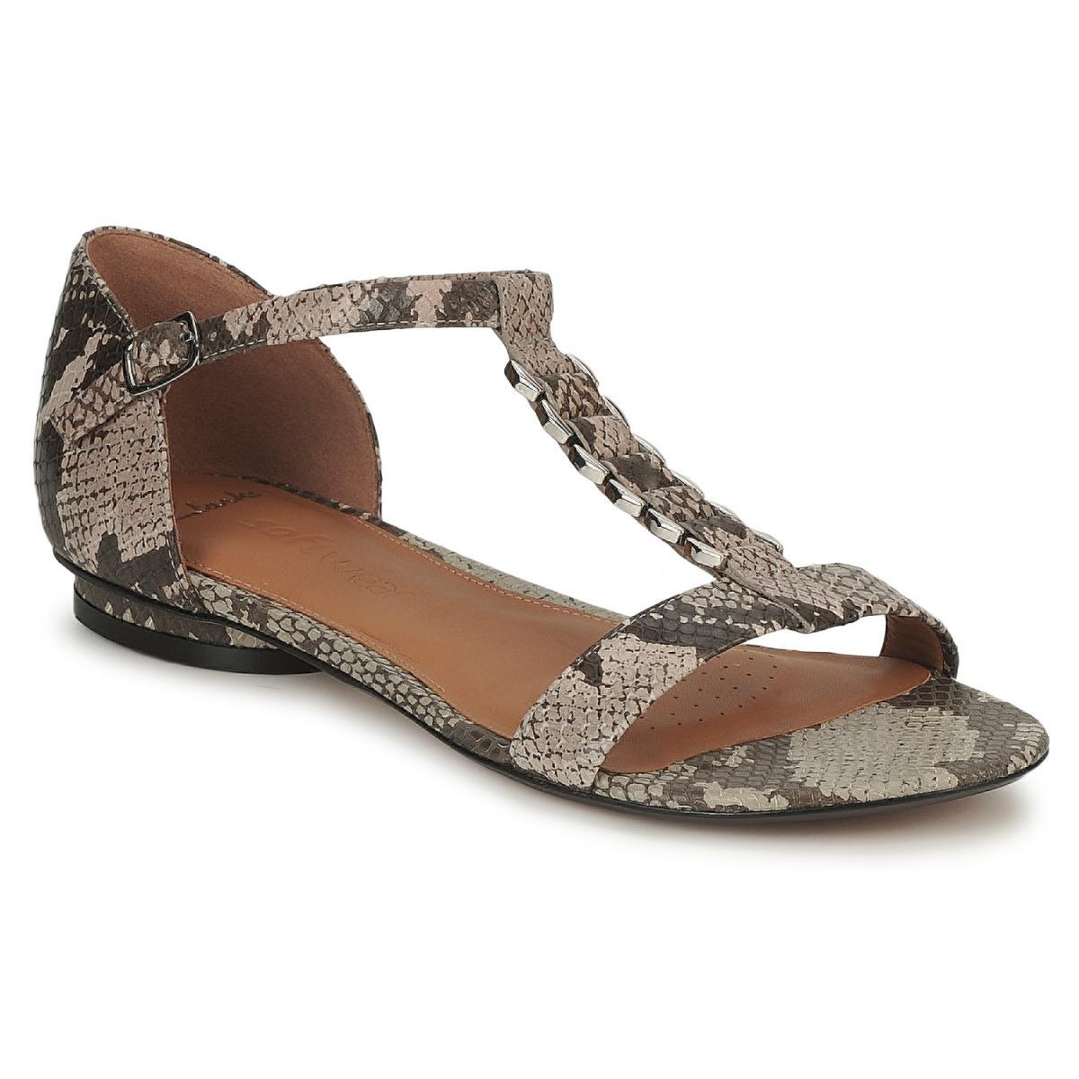 Topshop White Snakeskin Shoes