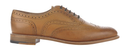 Best Of British Almond Pebble Finish Brogues T02 0113 £165
