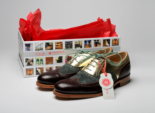 G:Lab brogues, from £350, in Liberty until November 3rd