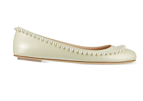 you CAN wear flat shoes to a wedding…even if you're the bride