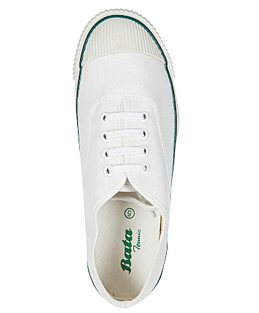 Bata tennis shoe, £35, Selfridges.com (BUY ME HERE!)