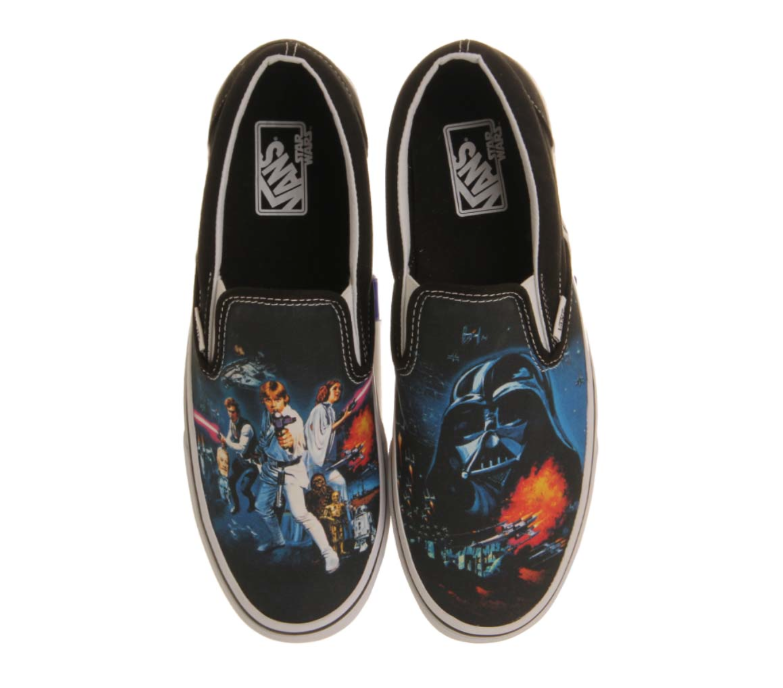 Vans 'A New Hope', £49.99, office .co.uk (BUY ME HERE!)