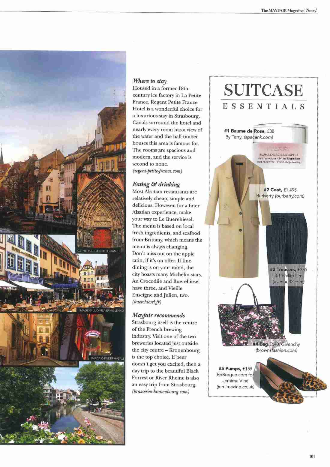 The Mayfair Magazine - April - Coverage