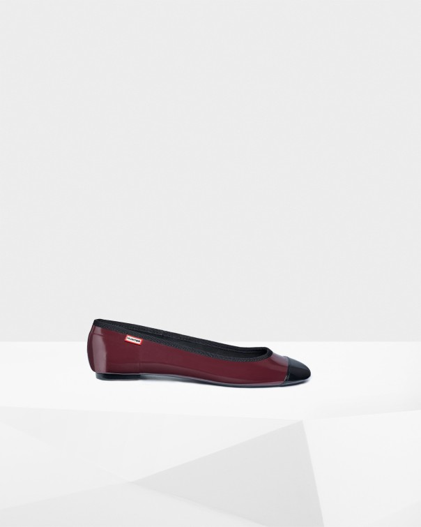 Hunter ballet pump