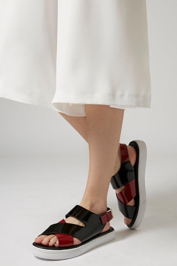 Fondant strap sandals, £58, topshop.com (BUY ME HERE!)