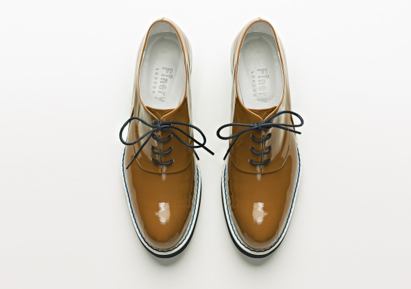 Finery brown lace ups