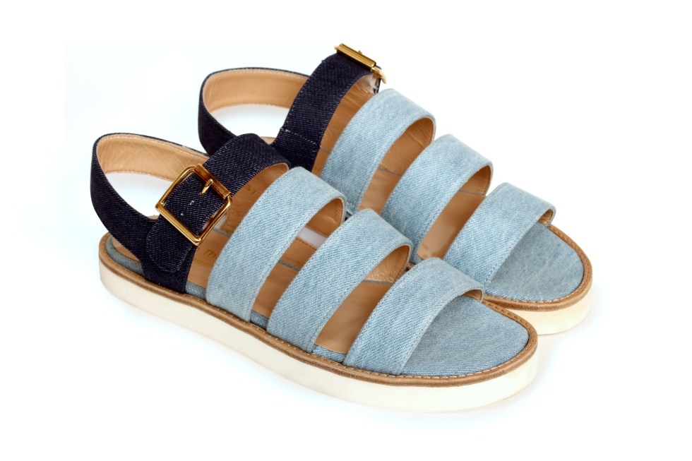 Kyoto sandals, €185, by Anne Thomas (BY ME HERE!)