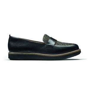 Glick Avalee Black Interest Leather