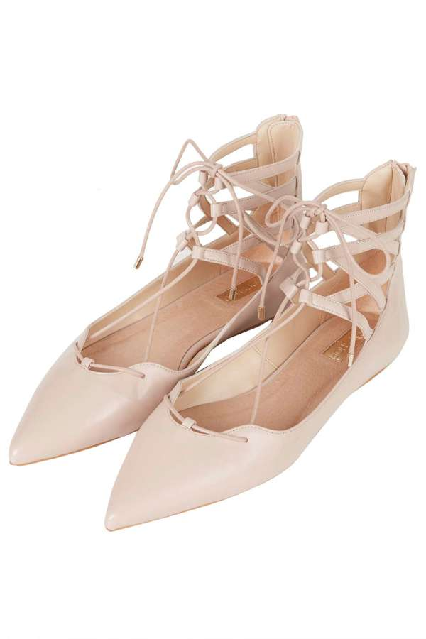 Topshop nude ghillie