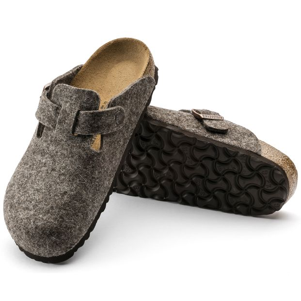 Birkenstock Boston felt clogs