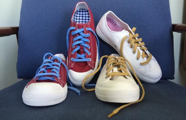 MUJI customisable sneakers
