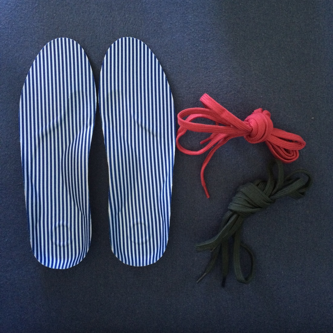 MUJI insole and laces