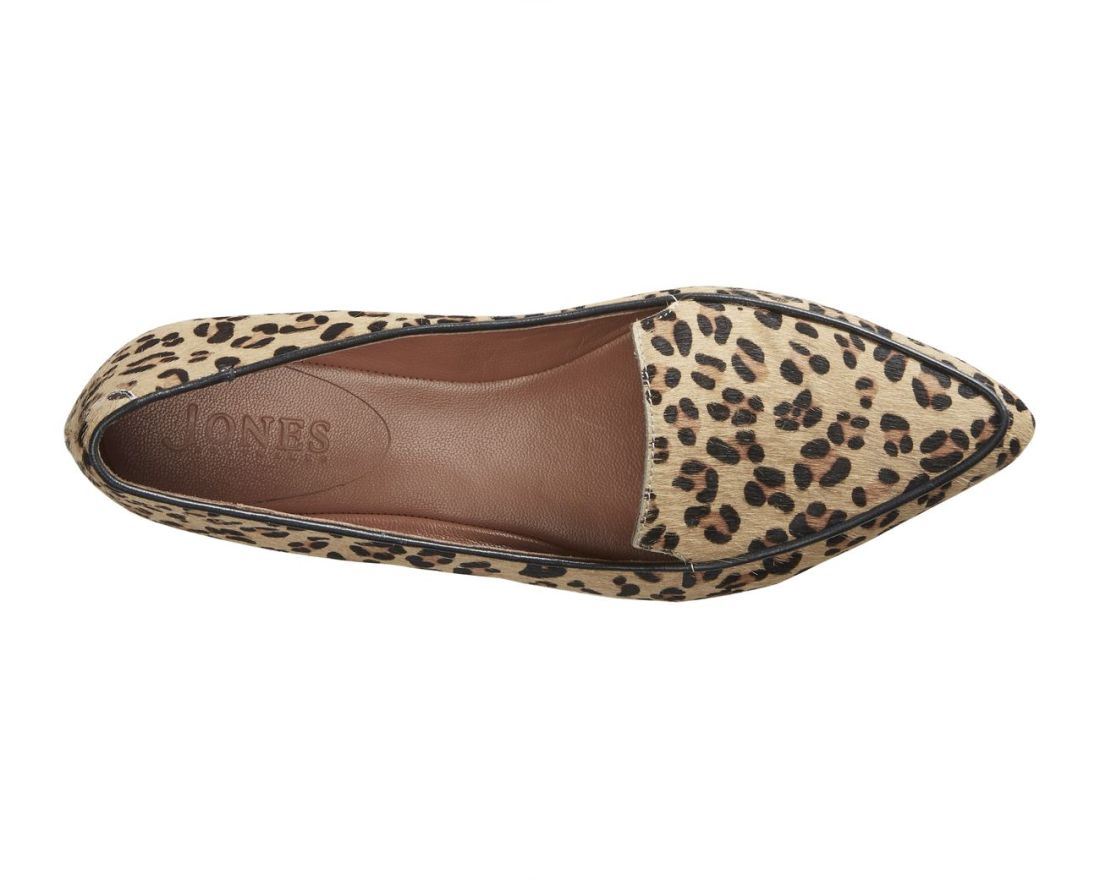 Jones Bootmaker leopard work flats