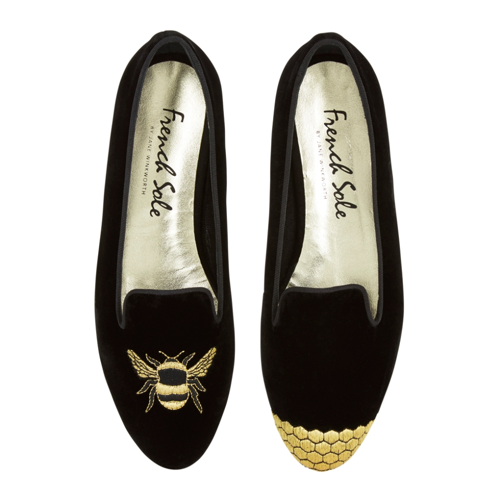 french-sole-bee-slippers