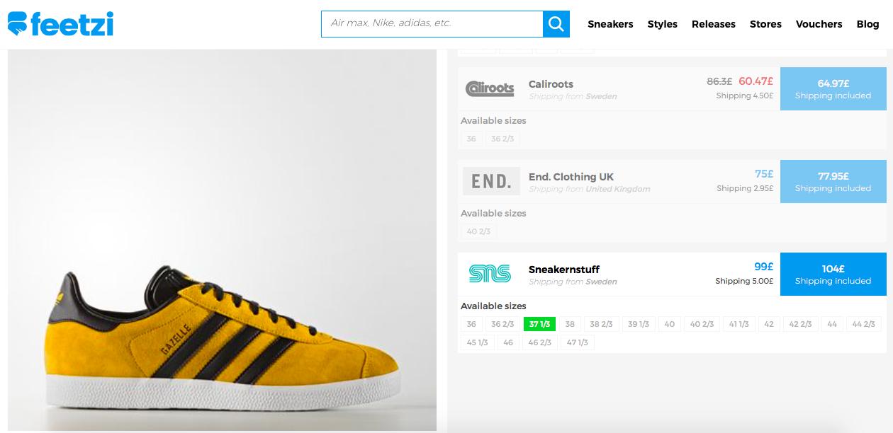 adidas Gazelle Or Or Or and Noir Feetzi e296dc