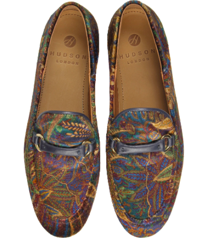 Hudson Ariana loafer Liberty print