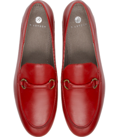 Hudson Ariana loafer red