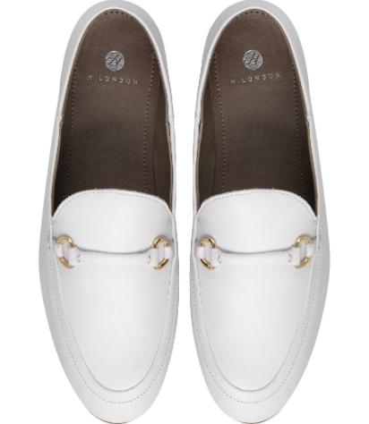 Hudson Ariana loafer white