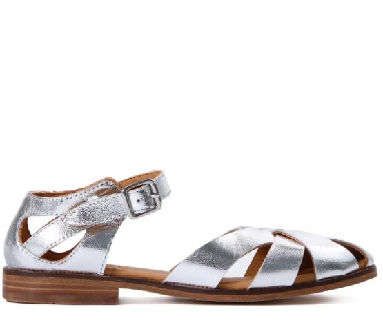 Hudson silver fisherman sandals