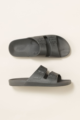 Moses grey slides