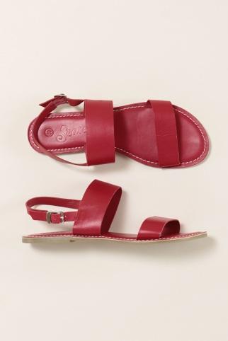 Seasalt Aurora sandals red