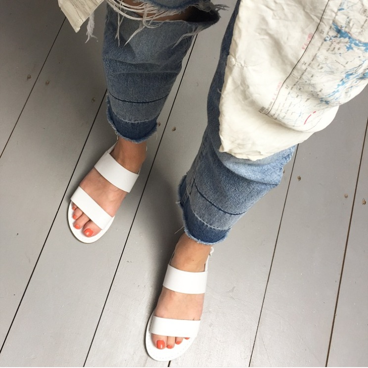 Seasalt Aurora sandals white