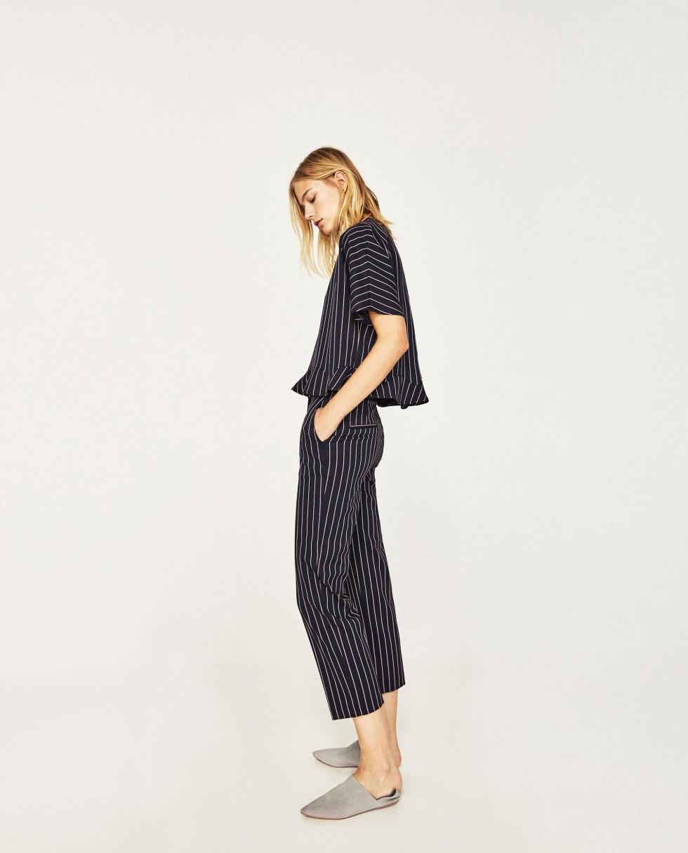 Zara grey slippers