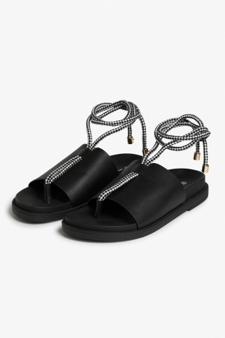 Monki rope lace sandals