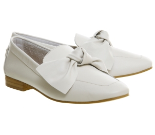 Office bow loafers