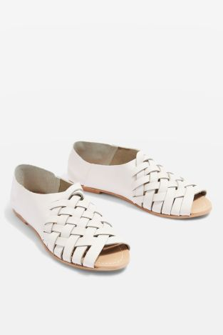 Topshop lattice sandals