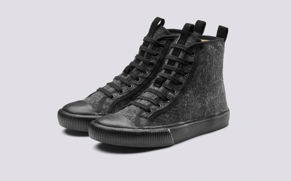 Grenson high tops grey