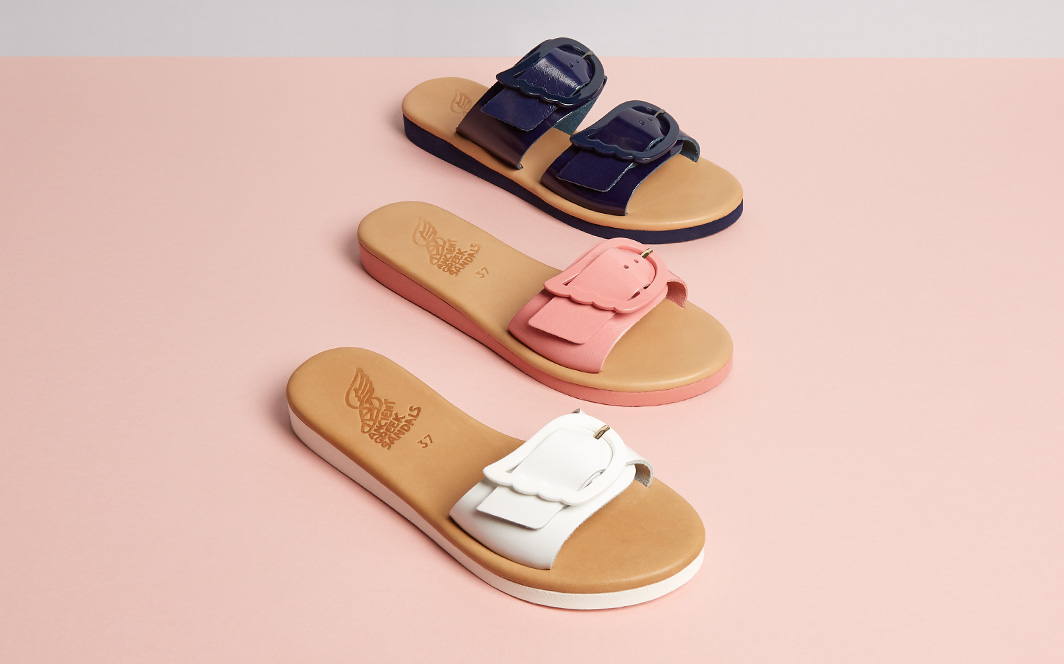 Ancient Greek Sandals big buckle