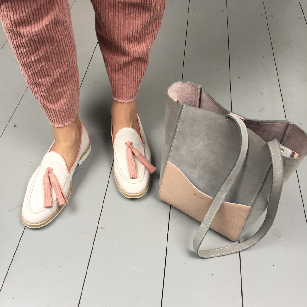 En Brogue wearing Ryg loafers