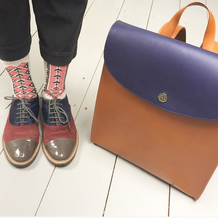 En Brogue with C Nicol rucksack