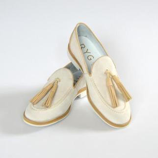 RYG beige loafer
