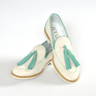 RYG green loafer