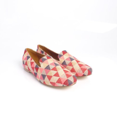 Tint London geometric loafers