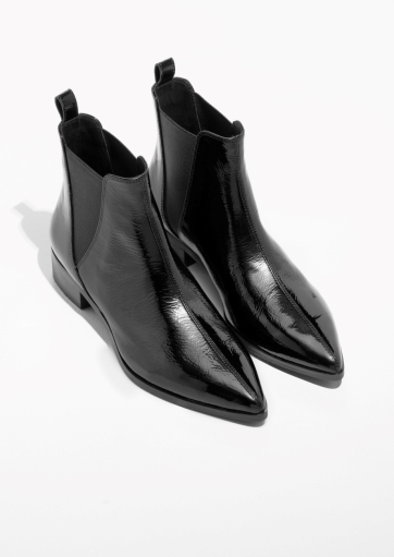 & Other Stories black Chelsea boots