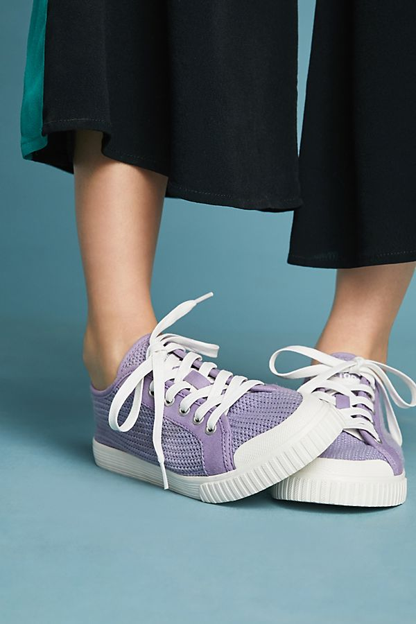 Anthropologue lilac sneakers