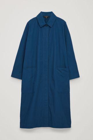 COS blue jacket