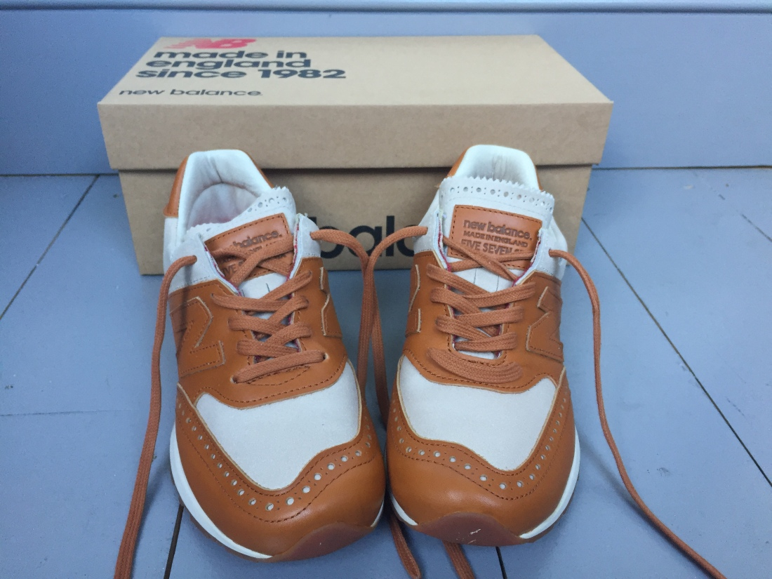Grenson New Balance trainers
