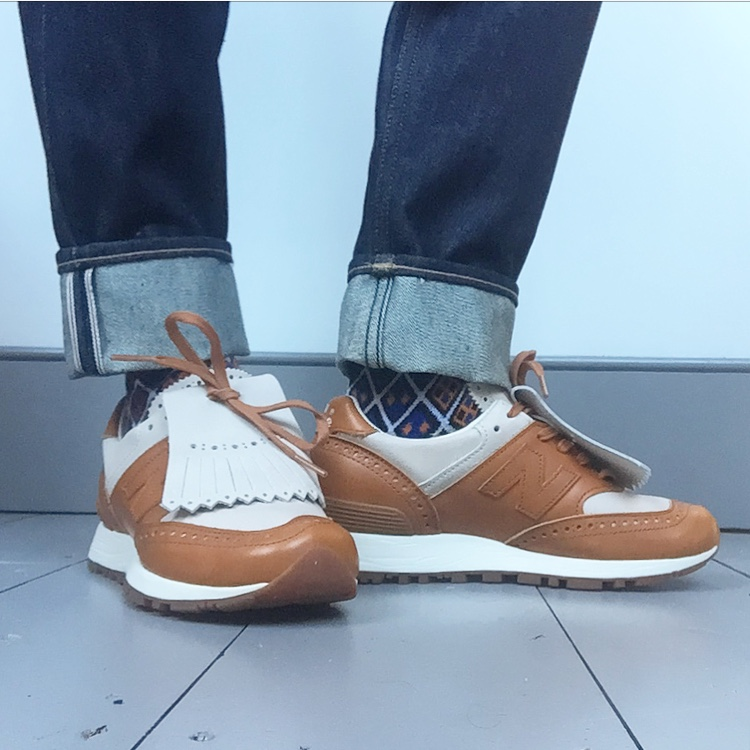 finest selection cd887 585d0 Grenson x New Balance