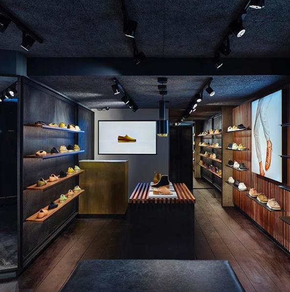 Clarks Originals store London
