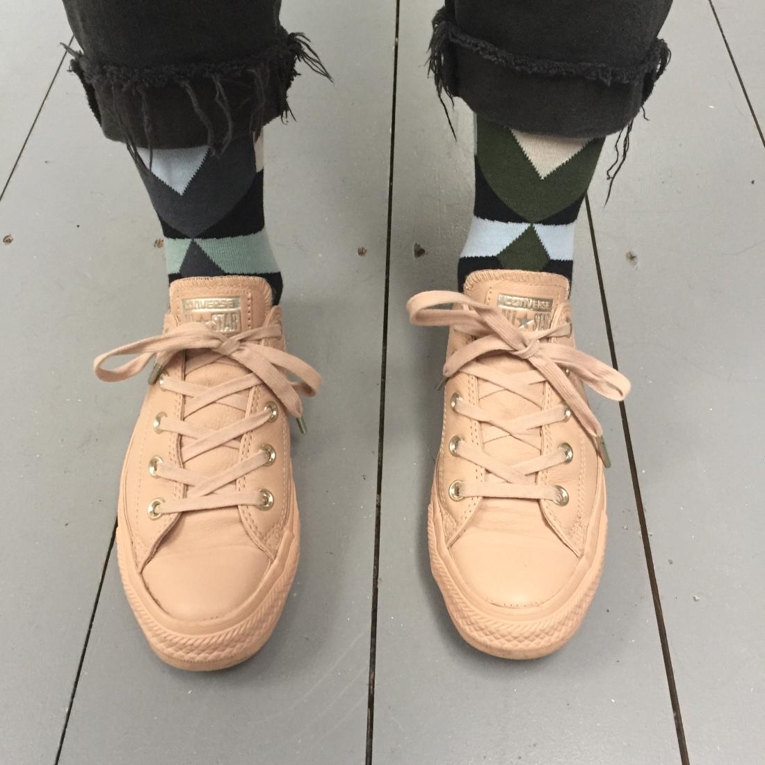 EnBrogue wearing Solo Socks