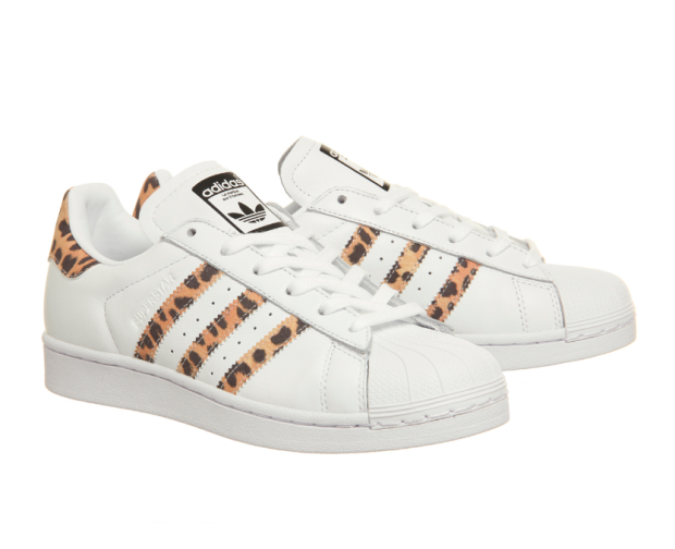 adidas leopard superstar