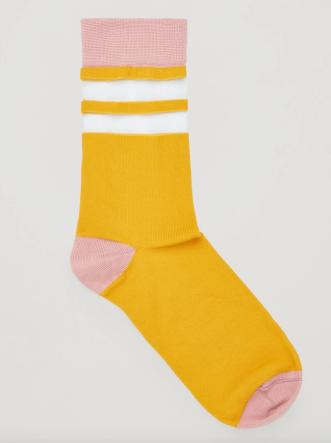 COS yellow socks