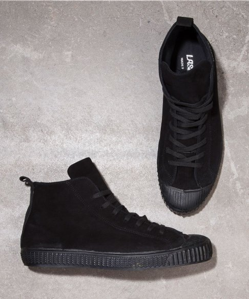 Laskaas black high tops