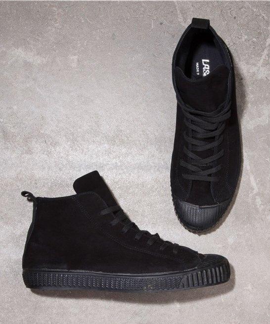 Laskaas black high tops