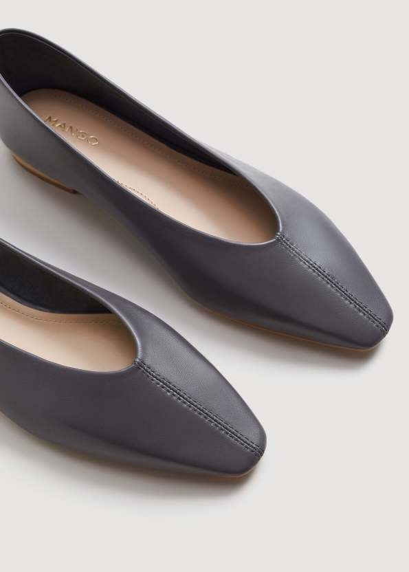 Mango grey Nanna shoes