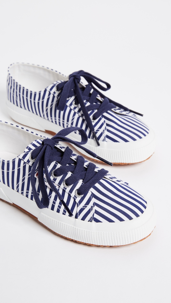 Superga stripe sneakers